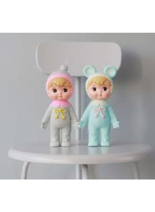 Woodland Doll: Blond and turquoise