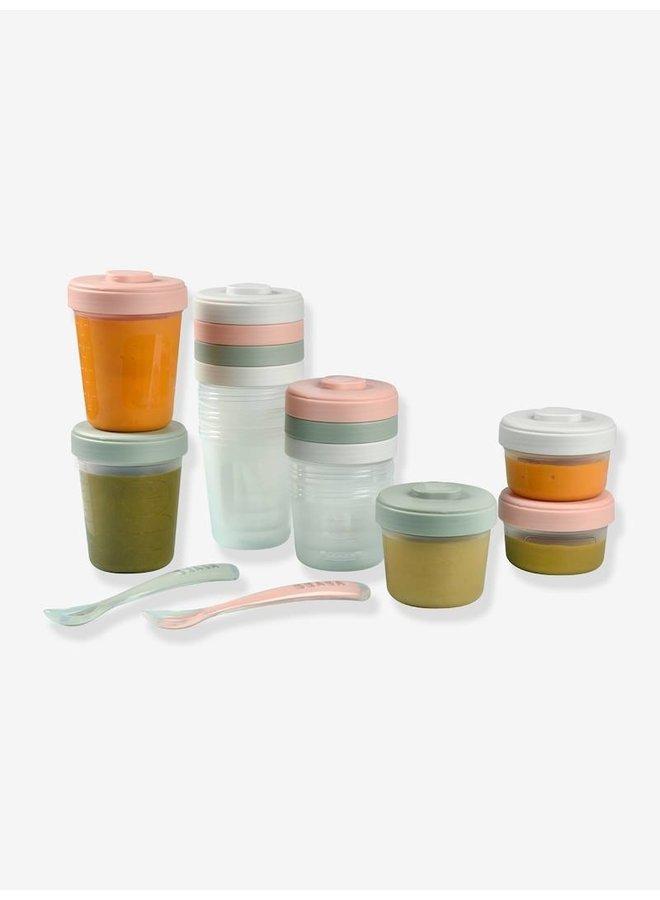 first meal jar & spoon pastel