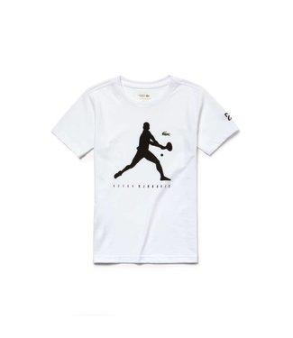 Lacoste Lacoste Sport Novak Djokovic Shirt Wit