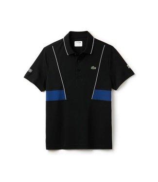Lacoste Lacoste Sport Novak Djokovic Polo Zwart/Blauw