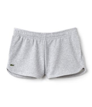 Lacoste Lacoste Fleece Short Dames Grijs