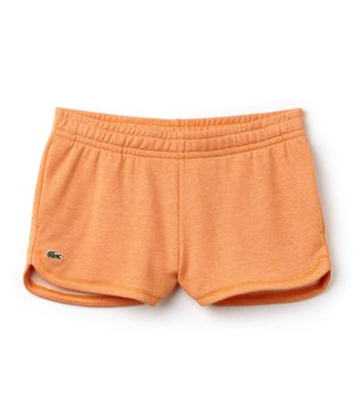 Lacoste Lacoste Fleece Short Dames Oranje