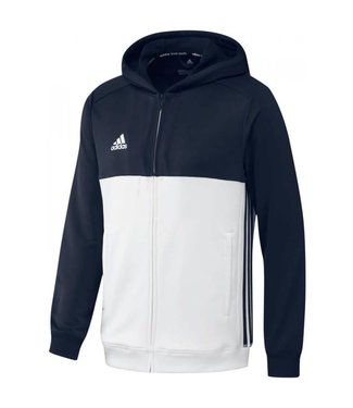 Adidas Adidas T16 Hoody Junior Blauw