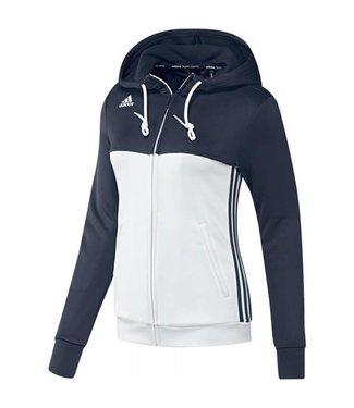 Adidas Adidas T16 Hoody Dames Blauw