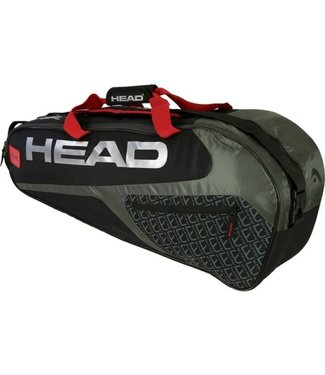 Head Head Elite 6R Combi Zwart