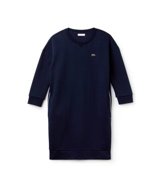 Lacoste Lacoste Sport Sweat Dress Blauw