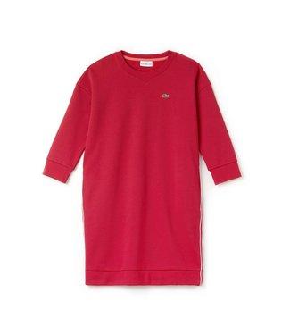 Lacoste Lacoste Sport Sweat Dress Rood