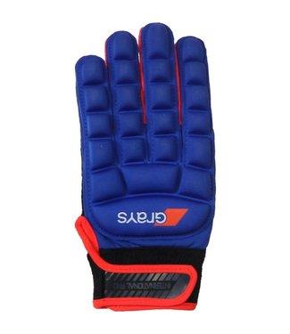 Grays Grays International Pro Glove Links Blauw