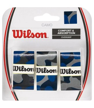Wilson Wilson Overgrip Blue Camo