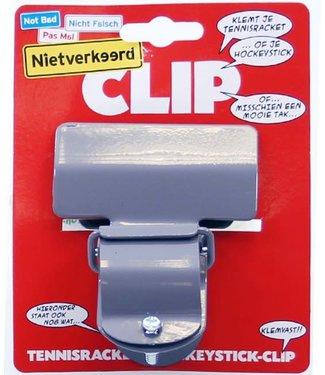 Hockeystick Clip Grijs