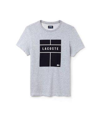 Lacoste Lacoste Tennis Court Shirt Grijs