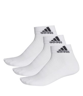 Adidas Adidas Tennissokken Wit Quarter