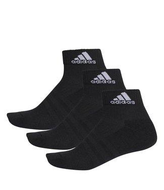 Adidas Adidas Tennissokken Zwart Quarter