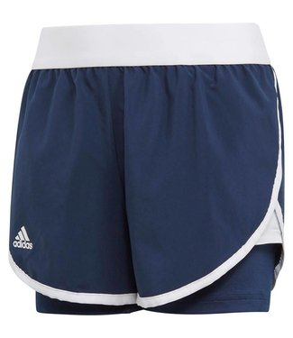 Adidas Adidas Club Short Girls Blauw