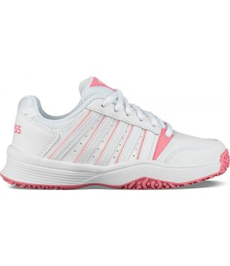 K-Swiss K-Swiss Court Smash Omni Meisjes White/Pink