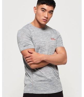 Superdry Superdry Active T-Shirt Grey Melange