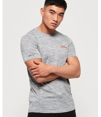 Superdry Superdry Sport Active T-Shirt Grey Melange