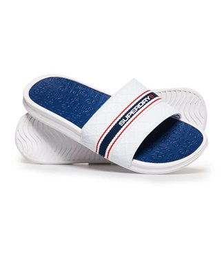 Superdry Superdry Slippers White/Blue