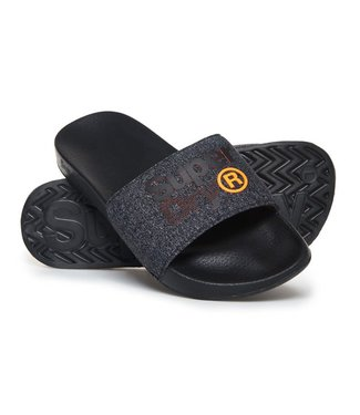 Superdry Superdry Slippers Black/Orange