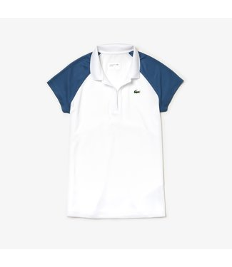 Lacoste Lacoste SPORT Tennis-Polo White/Navy dames