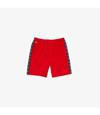 Lacoste Lacoste Sport Short Red Croco Stripped