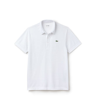 Lacoste Lacoste SPORT Technical Polo Stripped Wit