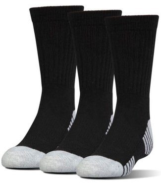 Under Armour Under Armour TECH CREW SOCKS 3PACK - Black