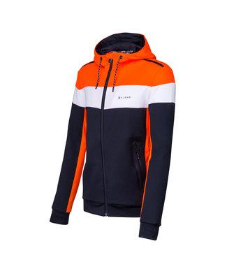 Sjeng Sports Sjeng Sid Hoody Black Orange