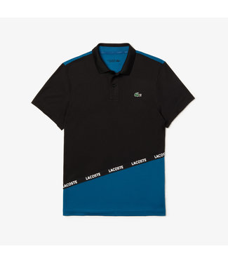 Lacoste LACOSTE SPORT TECHNICAL POLO Black/Blue