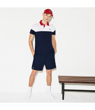 Lacoste Lacoste Sport Technical Polo Navy/White/Red