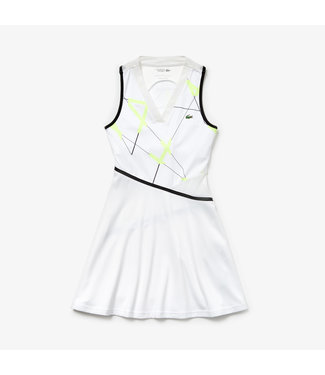 Lacoste Lacoste Sport Tennis Dress Wit