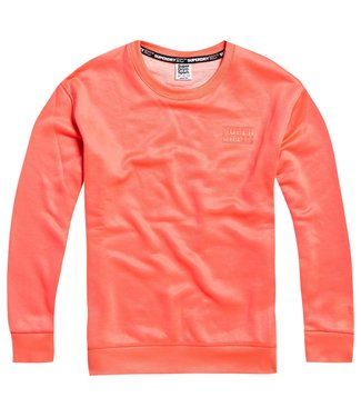 Superdry Superdry Sport Core Crew Trui Coral