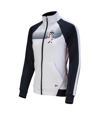 Sjeng Sports Sjeng Vale Jacket White Navy