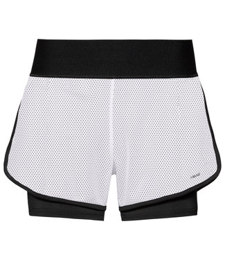 Head Head Stance Shorts Black White