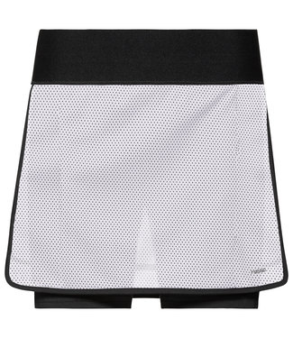 Head Head Smash Skort Black White