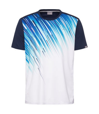 Head Head Slider T-Shirt Boys Blue