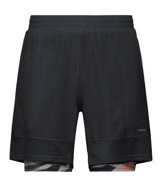 Head Head Slider Shorts Black