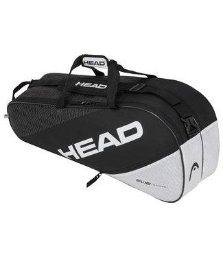 Head Head Elite 6R Combi Black White