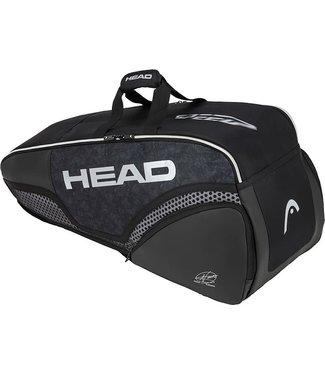 Head Head Djokovic 6R Combi Black