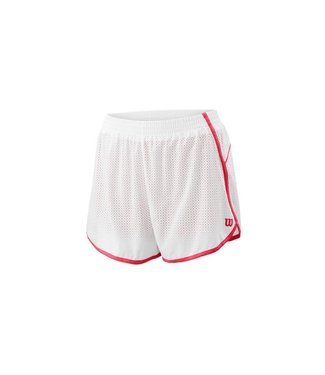 Wilson Wilson COMPETITION WOVEN 3.5 SHORT White Red