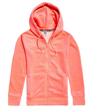Superdry Superdry Sport Core Hoody Coral