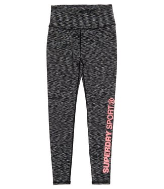 Superdry Superdry Sport TRAINING ESSENTIAL LEGGINGS Melange