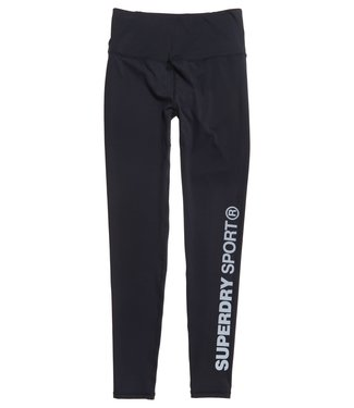 Superdry Superdry Sport TRAINING ESSENTIAL LEGGINGS Black