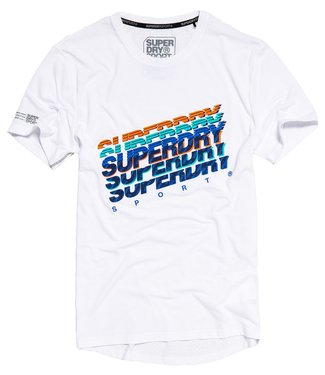 Superdry Superdry Sport Training Graphic Tee White