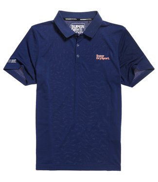 Superdry Superdry Sport Training Polo Navy
