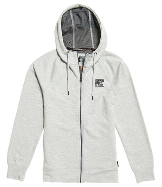 Superdry Superdry Sport Training Flex Ziphoody Grey
