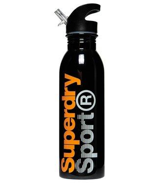 Superdry Superdry Super Steel Bottle Black Orange