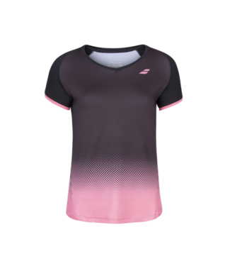 Babolat Babolat Compete Cap Sleeve Top Black/Pink