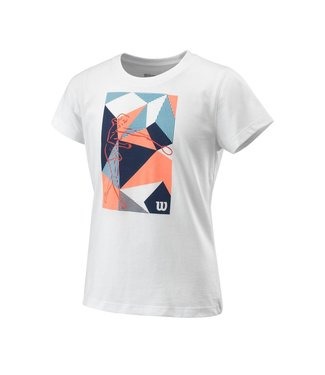 Wilson Wilson PRISM PLAY TECH Girls TEE