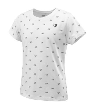 Wilson Wilson CAUSE A RACKET TECH Girls TEE
